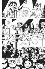 Scott Pilgrim, page 123 Click to view
